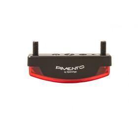 spanninga Pimento XE Baglygte E-Bike 6.36VDC + RR02 Reflektor + BR06, rød